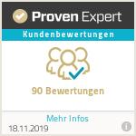 ProvenExpert Bewertungsiegel